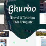 Travel & Tourism PSD Template - Ghurbo