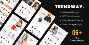 Trendway – Multipurpose PSD Template