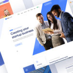 Startup and Finance Multipurpose PSD Template - Unicorp