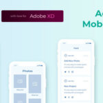 Mobile Wireframe UI Kit for AdobeXD - Collector