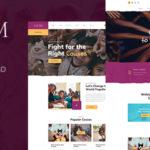 Charity NonProfit PSD Template - Savim