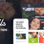 Hiking Summer Camp Children PSD Template - SevenHills