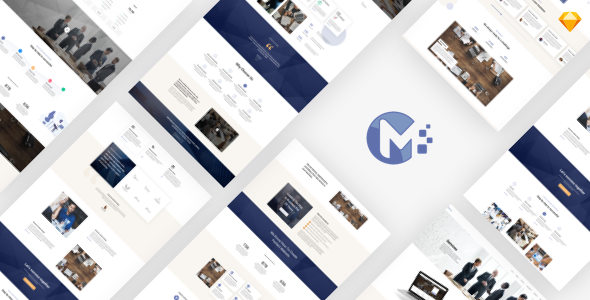 Monero - Business & Company Sketch Template