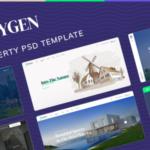 Single Property PSD Template - Qxygen