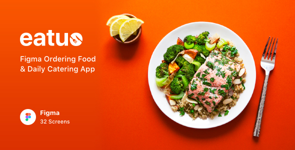 Eatuo - Figma Ordering Food & Daily Catering App