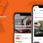 Figma Gift & Present Delivery App - Gyvt