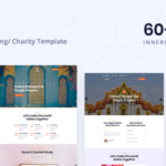 Charity PSD Template - Fundo