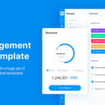 HR Management Admin Template for Sketch - MoveUp