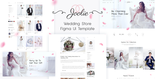 Joolie - Wedding Store Figma UI Template