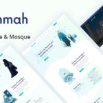Islamic Institute & Mosque PSD Template - Ummah