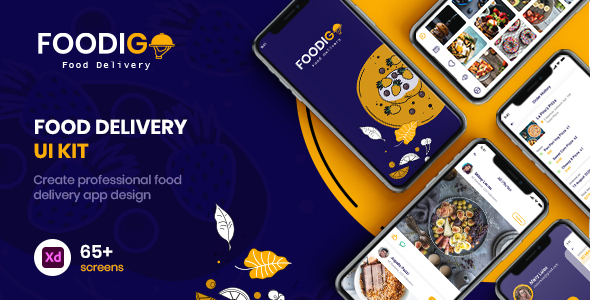 FOODIGO - XD Food Delivery UI Kit