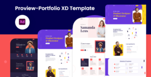 Proview - Portfolio XD Template