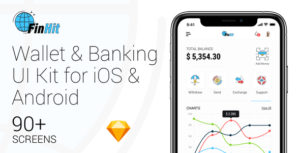 FinHit - Wallet & Banking UI Kit for iOS & Android
