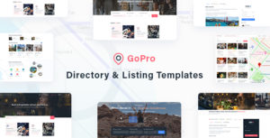 GoPro - Directory & Listing Templates