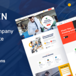 Printing Services Company PSD Template - Pixen