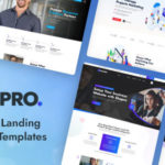 Multipurpose Landing Page Design XD Templates - Shapro