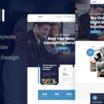 Consulting PSD Template - Aonsil