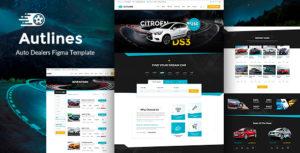 Autlines - Autodealer & Tuning Auto Figma