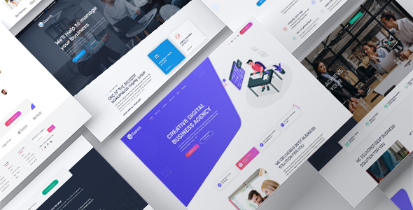 Bunch - Multi-Purpose PSD Website Templates
