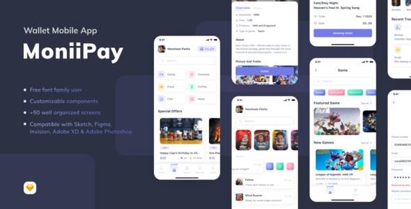 MoniiPay - Wallet Mobile App
