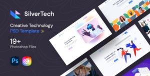 Silvertech - Creative PSD Template