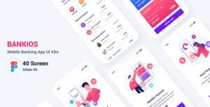 Bankios - Mobile Banking Figma Template