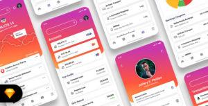 Diologic - E-Wallet Mobile App UI Kit