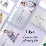 eCommerce PSD template - Liya