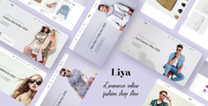 Liya - eCommerce PSD template