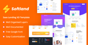 Softland - Saas Landing Page Template