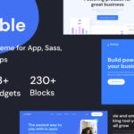 Multipurpose Landing Page Figma Template - Bubble