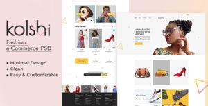 Kolshi E-commerce PSD Template