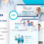 Medical and Health Care PSD Template - Medilax