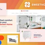 Desktop&Mobile eCommerce Figma Template - SweetHome