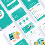 Currier Delivery Figma Template - Cuva