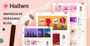 Hallwn - Impressive Personal Blog XD Template