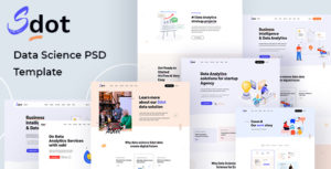 Sdot  - Data Science & Analytics PSD Template