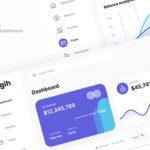 Simple Neat Banking Admin Dashboard Figma - Tagih