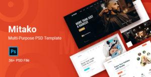 Mitako - Multi-Purpose PSD Template