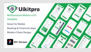 UikitPro - Multipurpose Wallet & Banking Figma Mobile Template