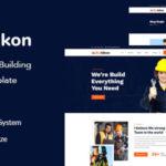 Construction & Building Figma Template - Buildkon