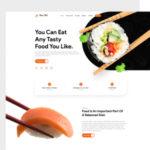 Food Bill - Food & Restaurant Landing Page Template