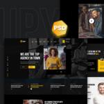 Digital Agency PSD Template - Grupi