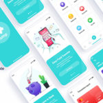 Mobile Banking Sketch Template - Hump