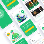 Food Delivery Adobe XD Template - Mesio