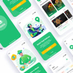 Food Delivery Sketch Template - Mesio