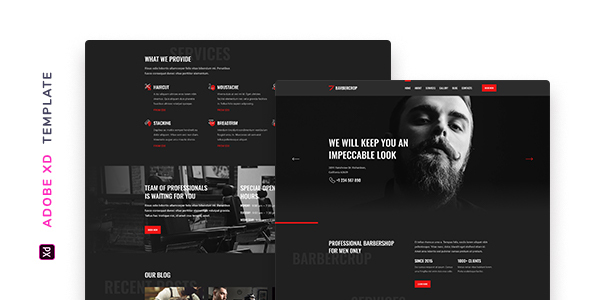 Barbercrop – Hairdressing Template for XD