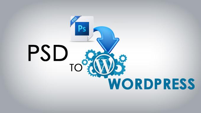 PSD to WordPress Woo Commerce